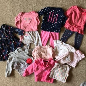 Carter's Girls 9 month Bundle